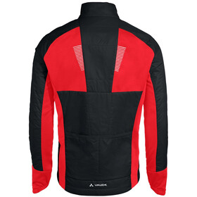 VAUDE Taroo Insulation Jacket Men, black/red